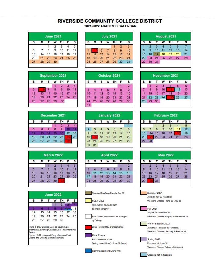 Csun Academic Calendar 2021-2022 Academic Calendar